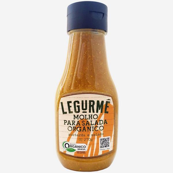 Molho de Salada Mostarda e Melado Orgânico 270g - Legurmê