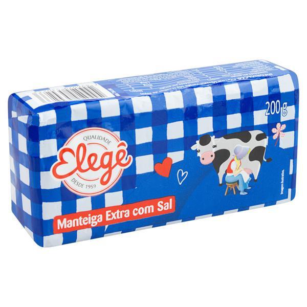 Manteiga Extra com Sal Elegê 200g
