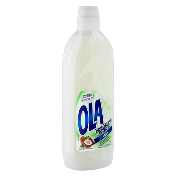 Lava-Roupas Líquido Roupas Delicadas Coco Ola Frasco 1l