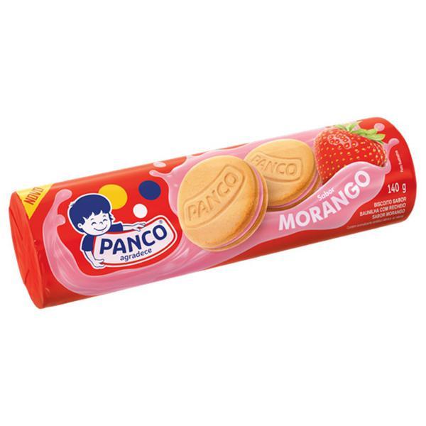 Bisc Rech Panco Morango 140G