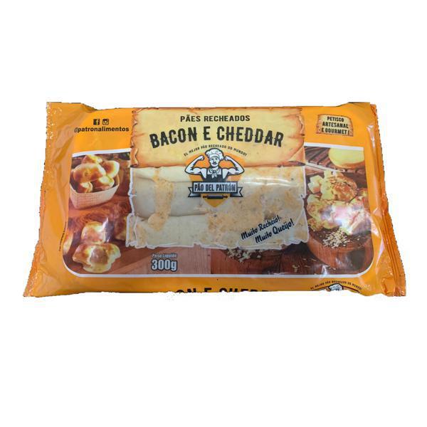 Pão de Recheado DEL PATRON Bacon com Cheddar 300g