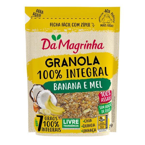 Granola Da Magrinha 250G Banana Mel