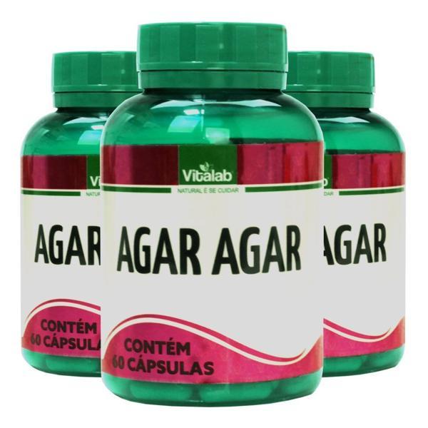 Agar Agar  - Produto Natural 60 cápsulas