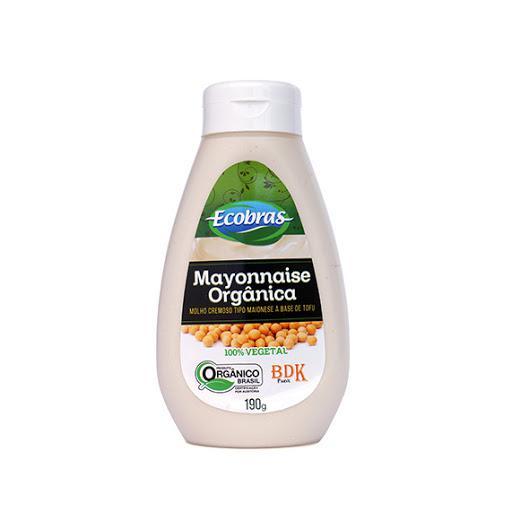Mayonnaise de Tofu Original Orgânica 190g - Ecobras