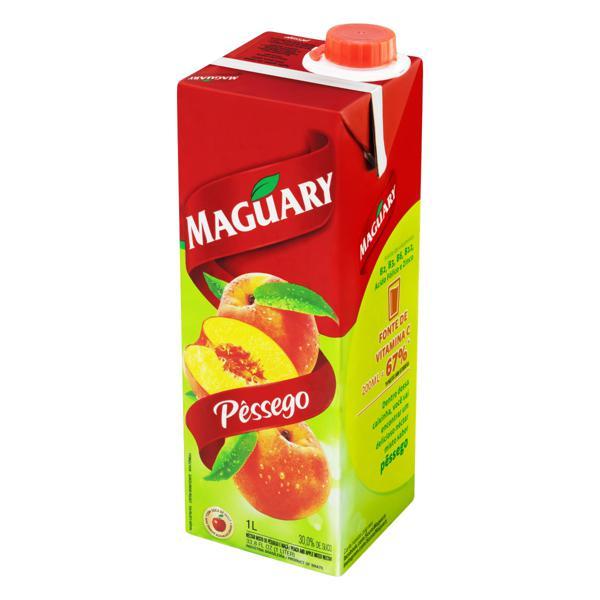 Néctar Misto Pêssego Maguary Caixa 1l