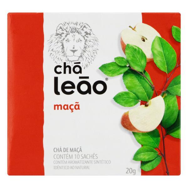 Chá Maçã Leão Fuze Caixa 20g 10 Unidades