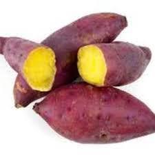 Batata doce amarela (500g) - Orgânica
