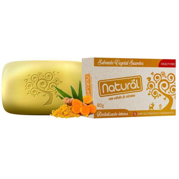 Sabonete cúrcuma 80g - Natural