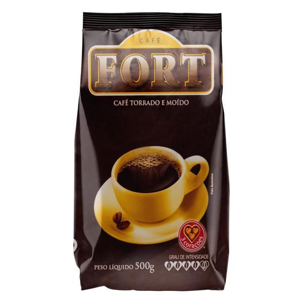 Café Torrado e Moído Forte Fort Pacote 500g