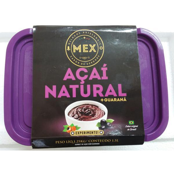 Açaí Natural + Guaraná MEX 1,5l