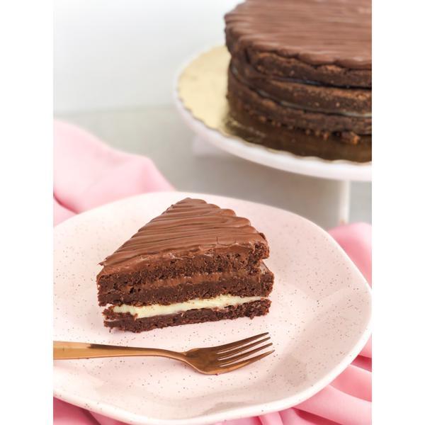 Torta Brownie(3 camadas)