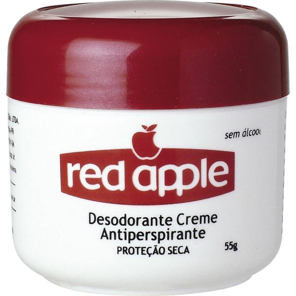 Desodorante Antitranspirante RED APPLE Creme Unissex 55g