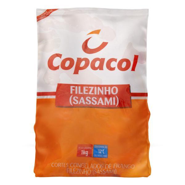 Filezinho Sassami de Frango Congelado Copacol 1kg