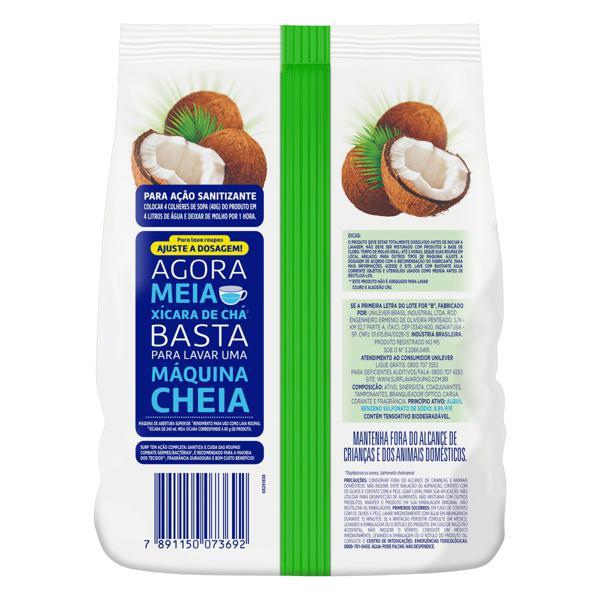 Lava-Roupas em Pó 5 em 1 Cuidado do Coco Surf Pacote 1,6kg