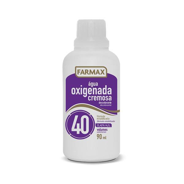 Água Oxigenada FARMAX Cremosa 40 Volumes 90ml