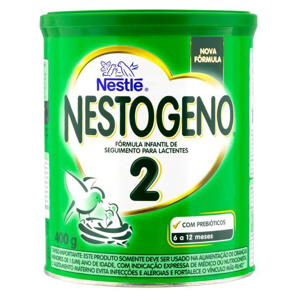 Fórmula Infantil para Lactentes 2 Nestlé Nestogeno Lata 400g