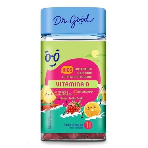 Suplemento Alimentar DR.GOOD Vitamina D Kids 30 Unidades