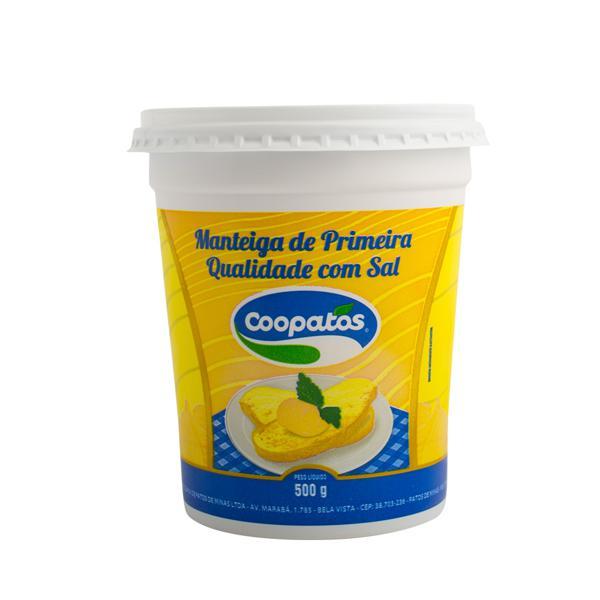 Manteiga COOPATOS Com Sal 500g