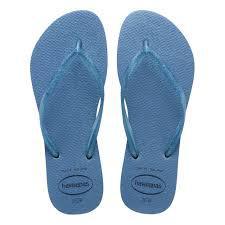 Chinela Havaiana Slim Gloss Azul