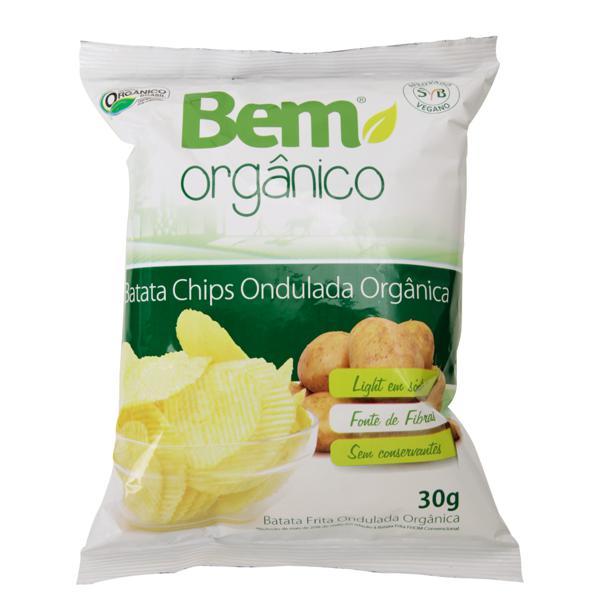 Batata Chips Ondulada (30g)