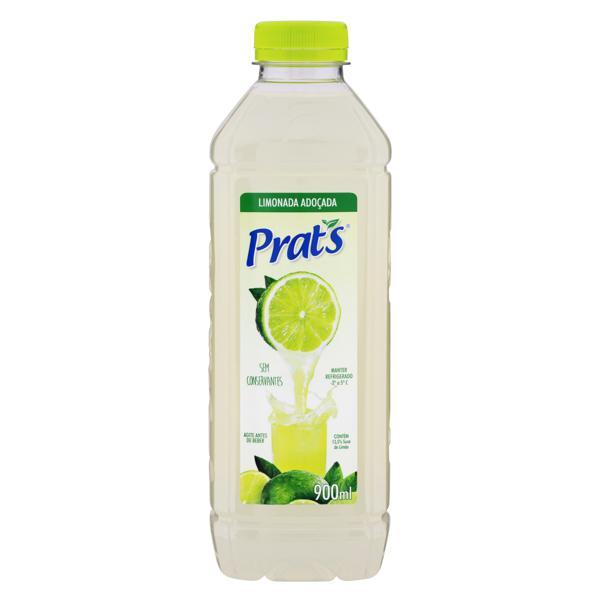 Suco Adoçado Limonada Prat's Garrafa 900ml