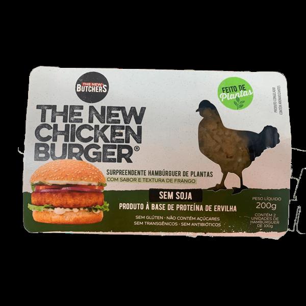 Hambúrguer de Plantas THE NEW CHICKEN 200g