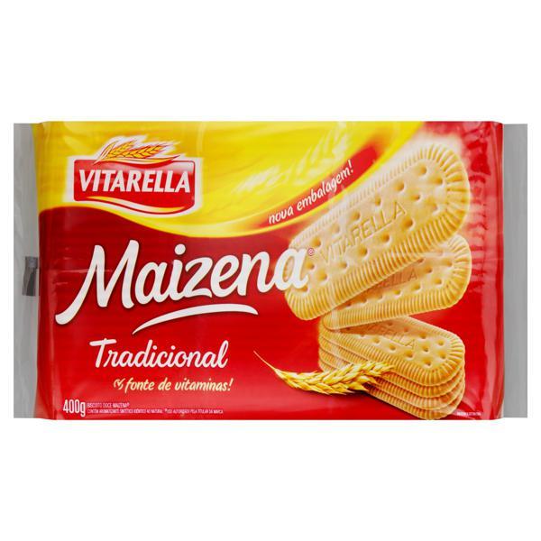 Biscoito Maisena Tradicional Vitarella Pacote 400g