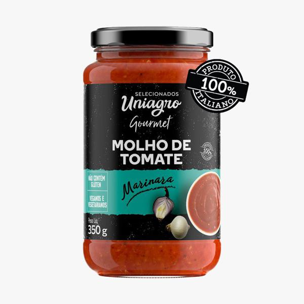 Molho de tomate Marinara  ( 350g) Vegano- 100% Italiano