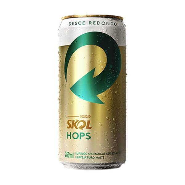 Cerveja Skol Hops Puro Malte 269Ml Lata