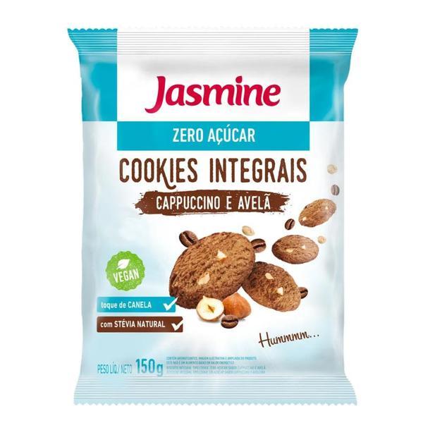 Cookies Jasmine Zero Açúcar Cappuccino e Avelã 150G