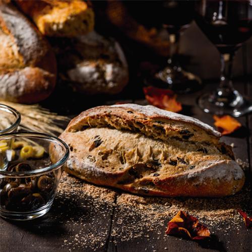 Pão de Azeitona (Levain)