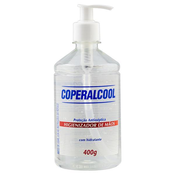 Higienizador em Gel Antisséptico para as Mãos Coperalcool Frasco 400g