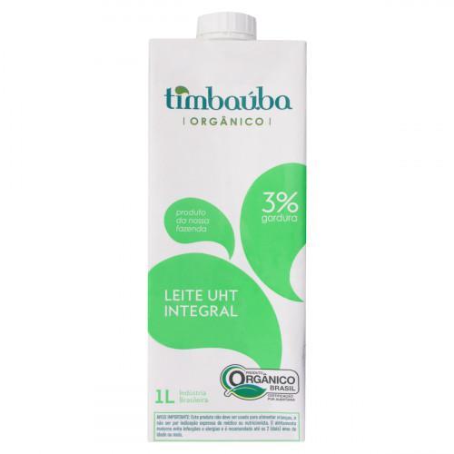 Leite integral 1L - Timbaúba validade 14/07