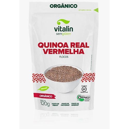 Quinoa vermelha em flocos 120g
