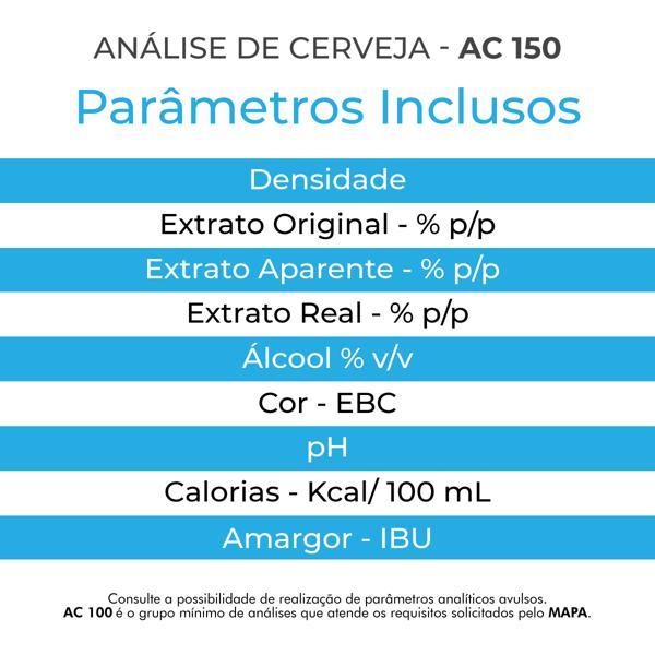 Análise de Cerveja - AC 150