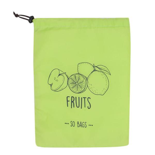 Saco Conservador de Frutas Verde - So bags