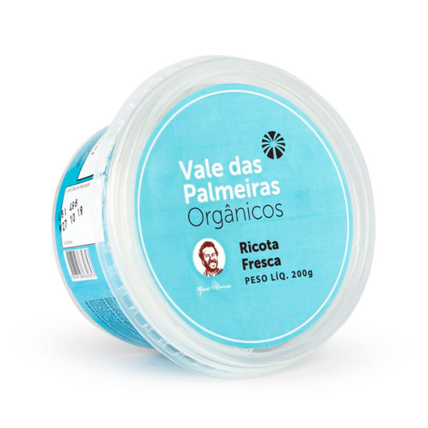 Ricota Fresca VALE DAS PALMEIRAS Orgânica 200g