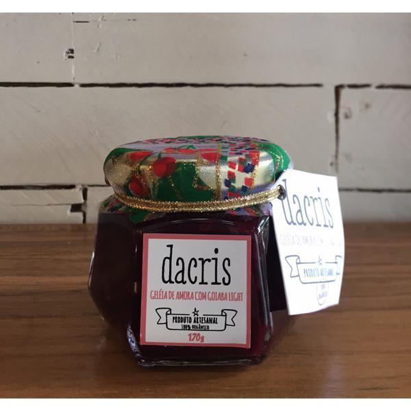 Geleia de amora com goiaba - DaCris