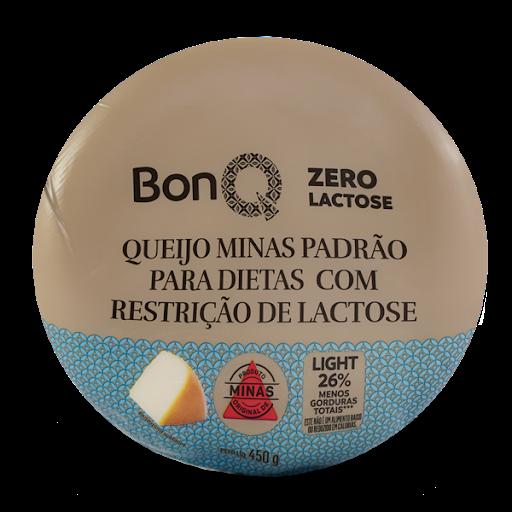 Queijo Minas Padrao Zero Lac Bonq 450G