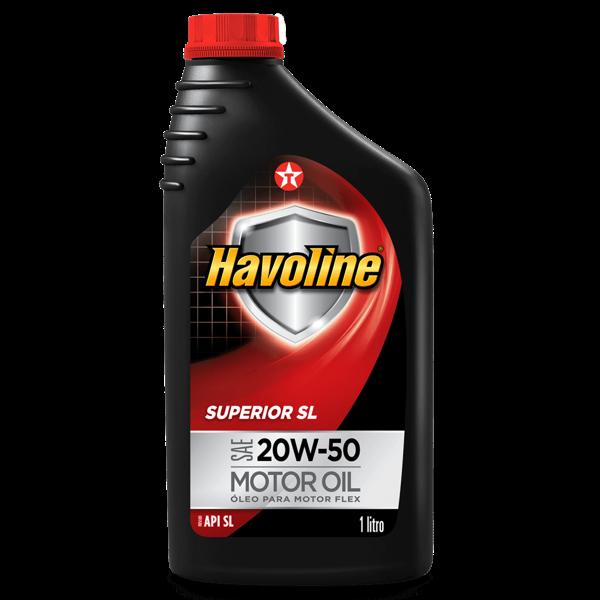 Óleo Motor Texaco 1Lt Havoline Superior Sae Sl 20W-50 Motor Oil