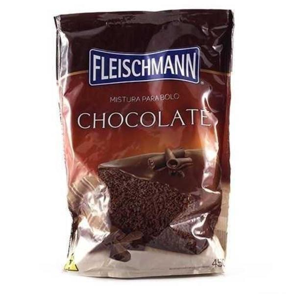 Mistura para Bolo FLEISCHMANN Chocolate 390g