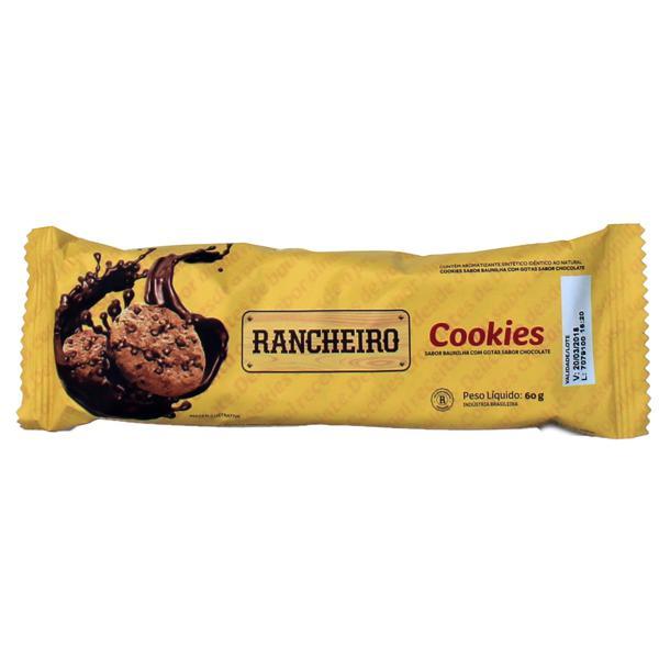 Cookies RANCHEIRO Com Gotas de Chocolate 60g