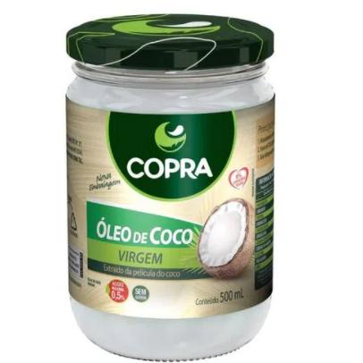 Oleo De Coco Copra 500Ml Virgem