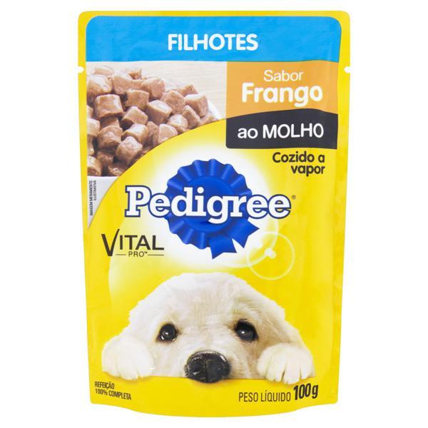 Alimento para Cães Filhotes Frango ao Molho Pedigree Vital Pro Sachê 100g