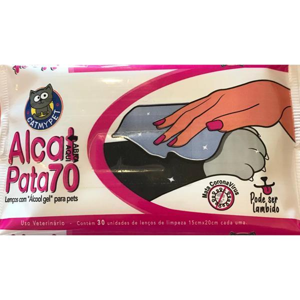 Alcat Lenço Umidecido C/30 Unid Catmypet