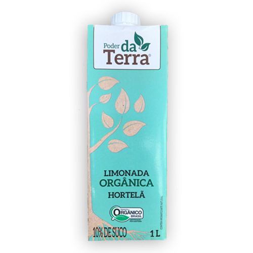 Limonada Orgânica Hortelã (1L)