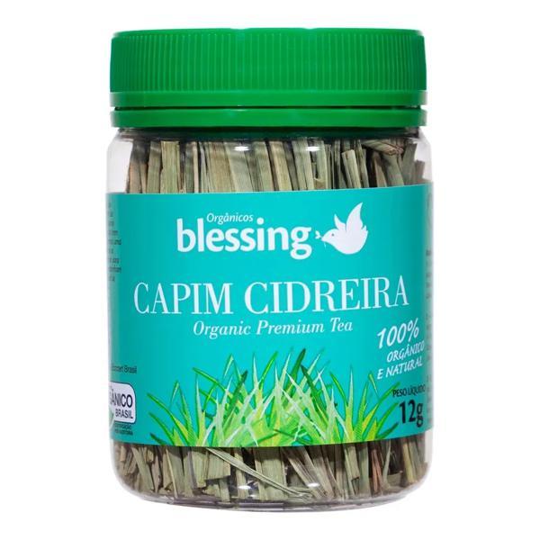 Chá Capim Cidreira Orgânico BLESSING 12g