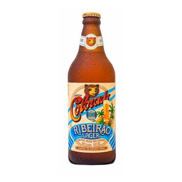 Cerveja Ribeirão Lager COLORADO 600ml