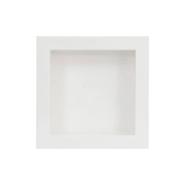 À vista 10% desc (boleto) - Nicho Simples 30X30 Forma - Branco