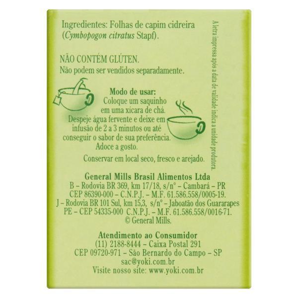 Chá Capim-Cidreira Lin Tea Caixa 10g 10 Unidades